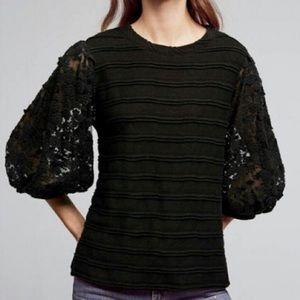 Eri Ali Anthropologie Chelsea Striped Sweater